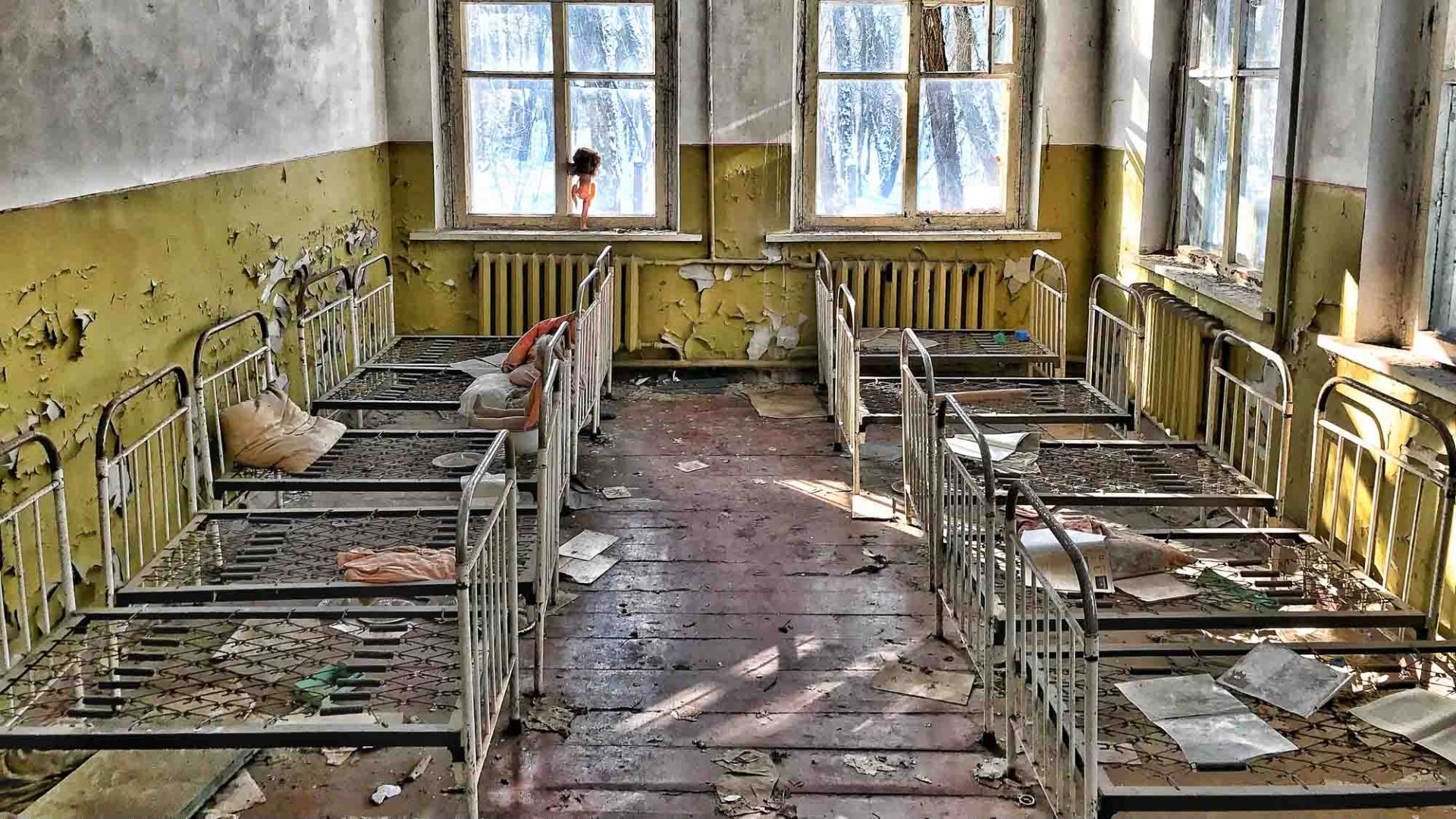 Life inside Chernobyl, one of the most polluted places on earth