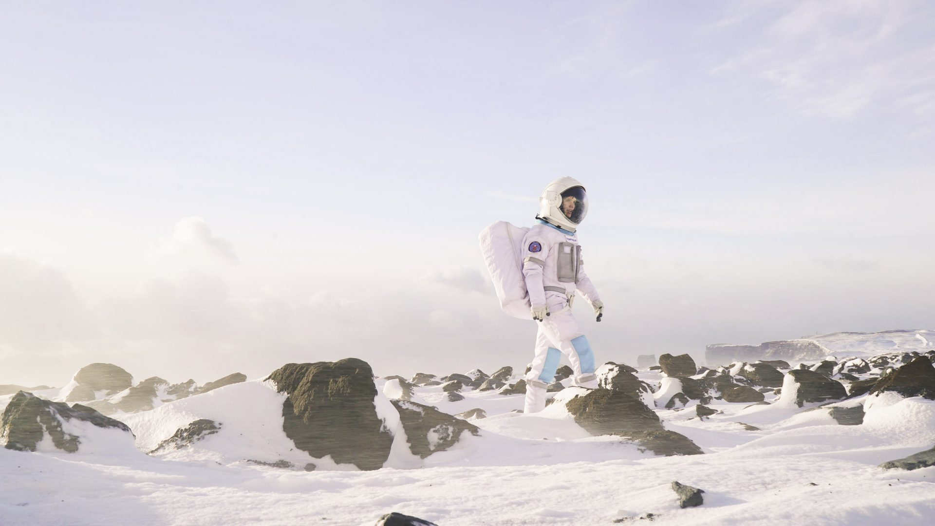 Participants in a 12-week course undertake space training in Iceland with Space Nation.