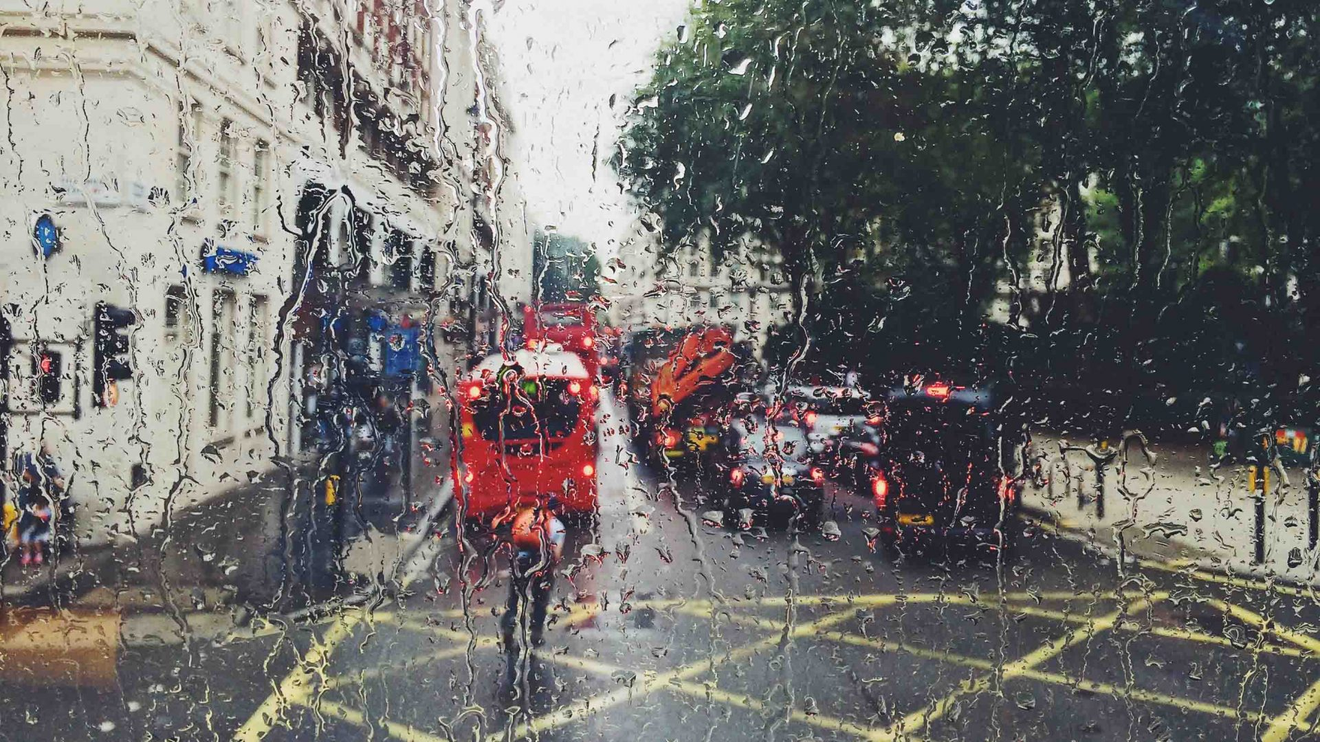 You can keep your sunshine: Traveling in the rain is better for the soul
