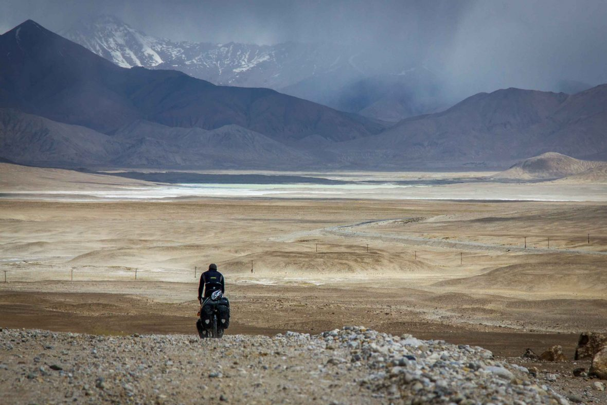 Pamir Highway, Tajikistan.