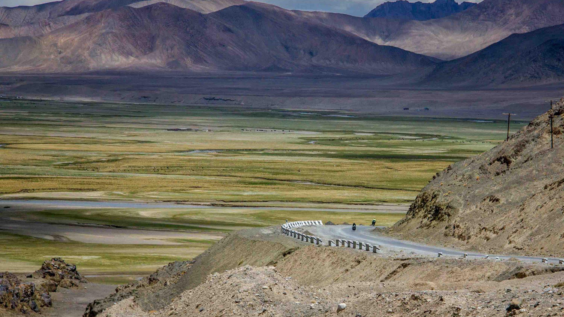 Murghab plain, Tajikistan.