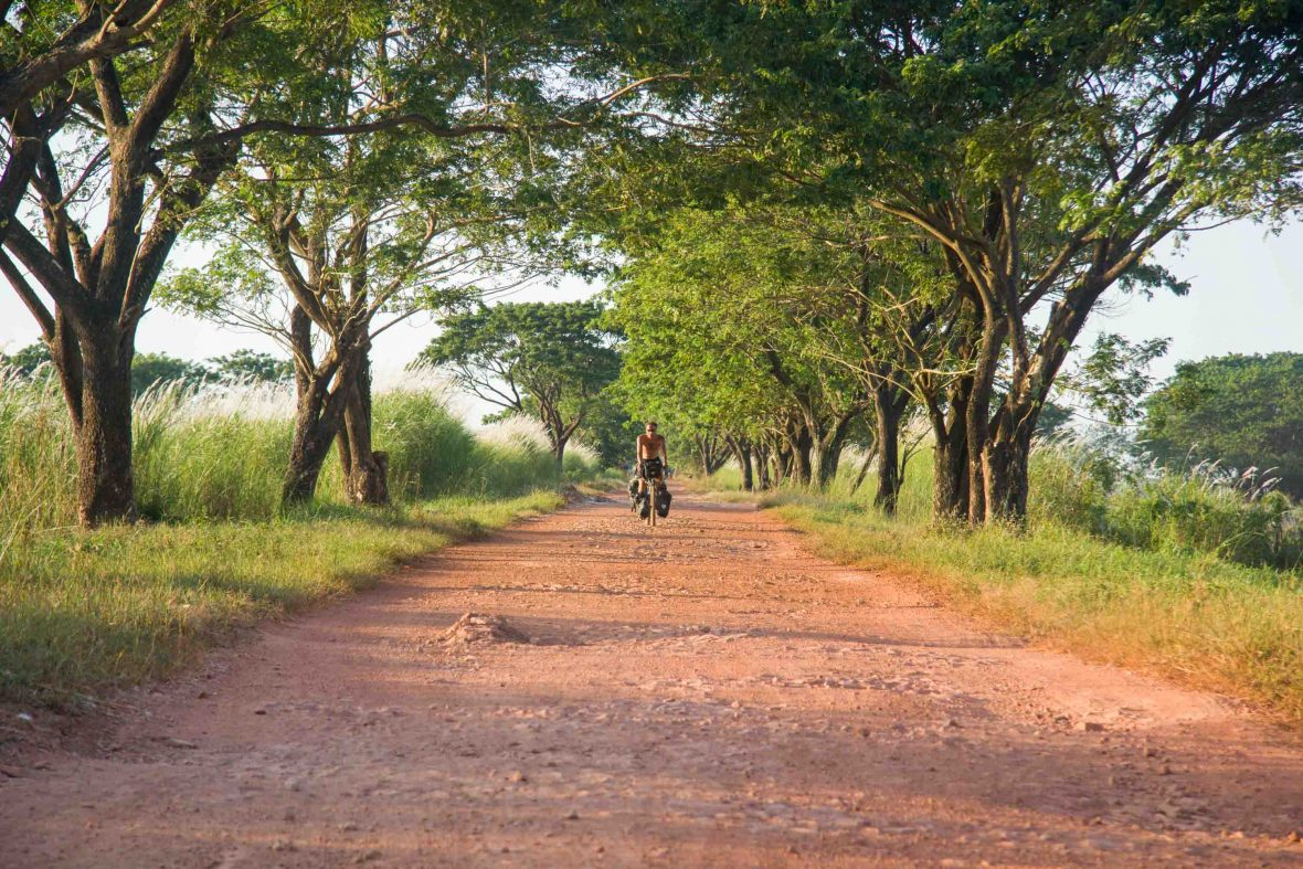 Cycling the backroads of Burma/Myanmar.
