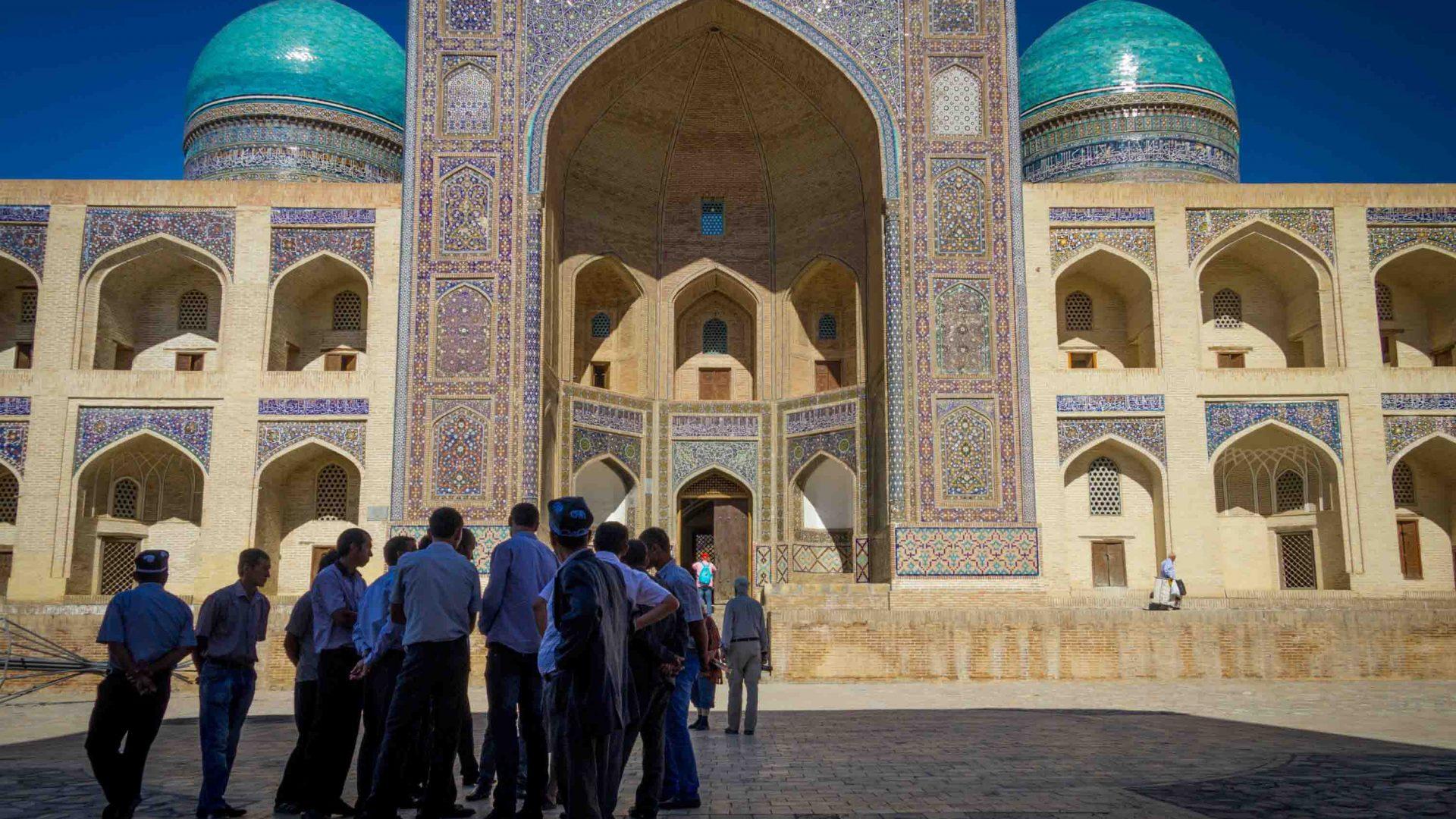 Po-i-Kalyan Square, Bukhara, Uzbekistan.