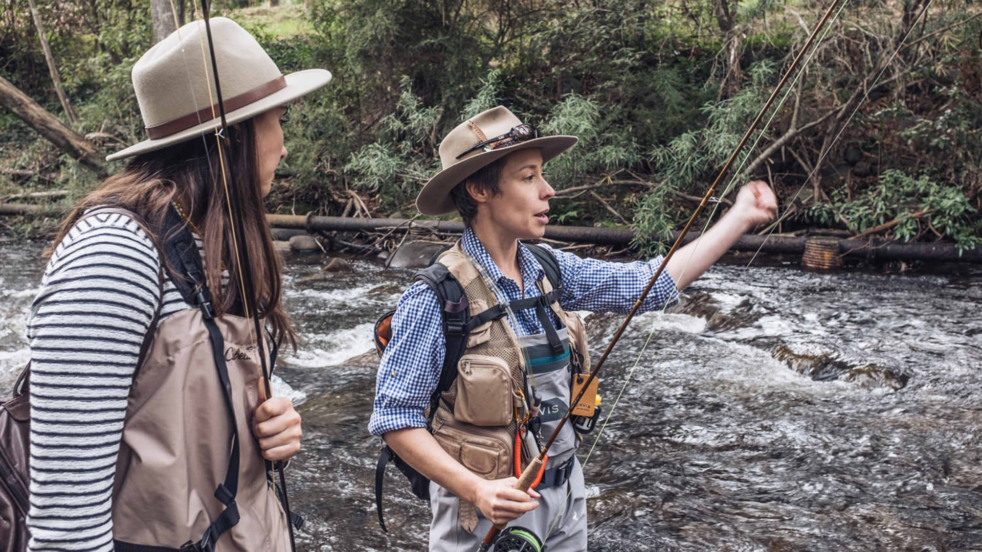 The fly fisher on a mission to get more women out on the water