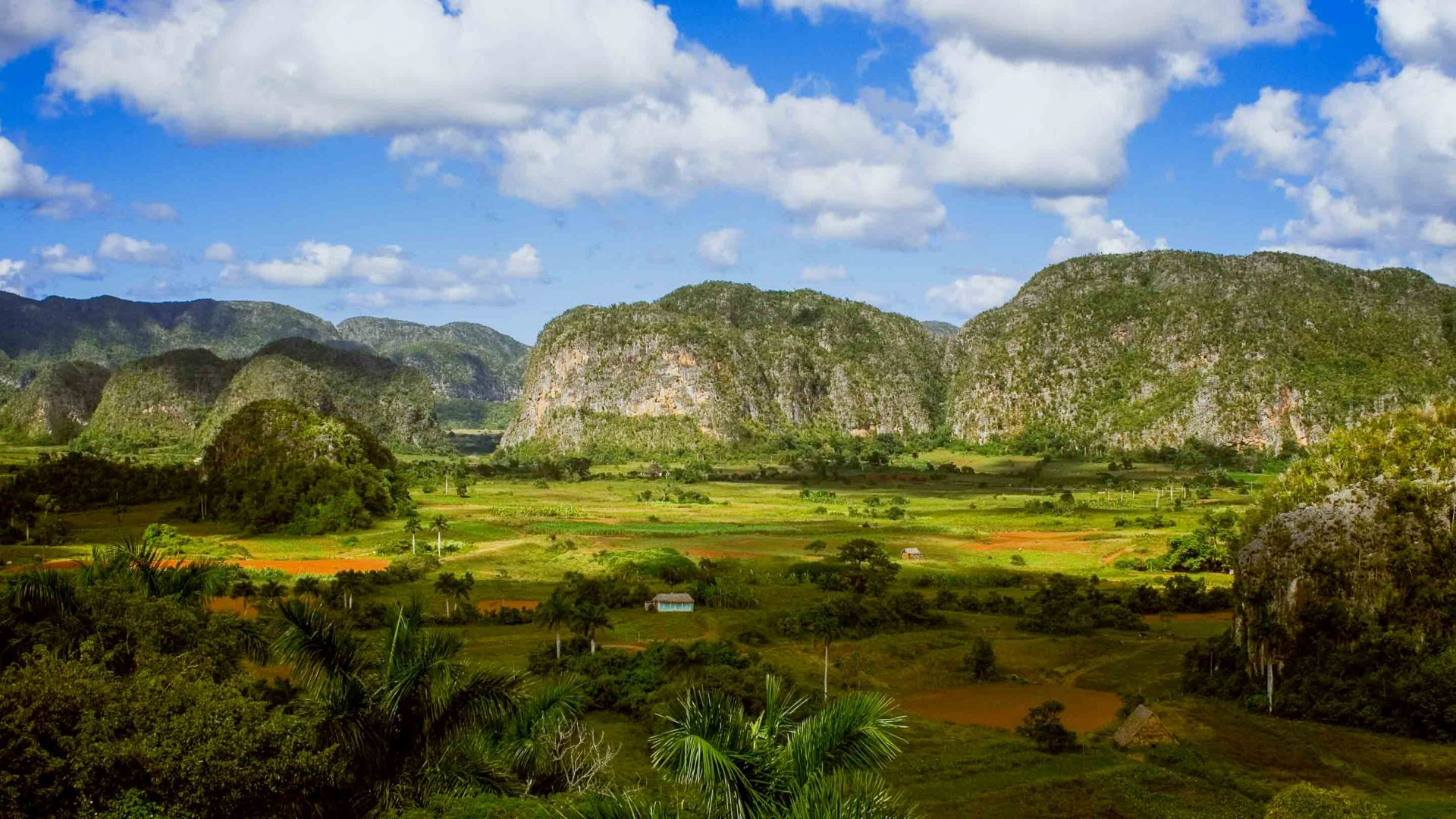 The verdant valleys of Cuba are a draw card for travelers.