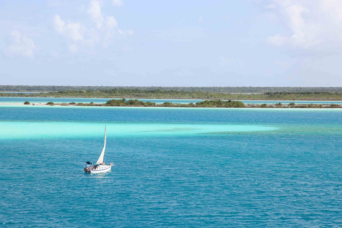 Bacalar in the Yucatan Peninsula, Mexico.