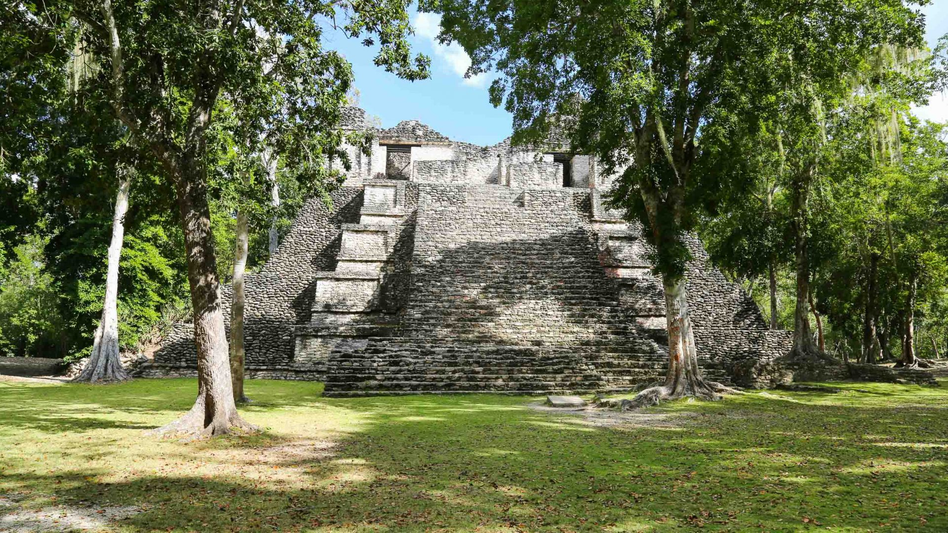 The ancient ruins of Dzibanche in Mexico's Yucatán Peninsula.