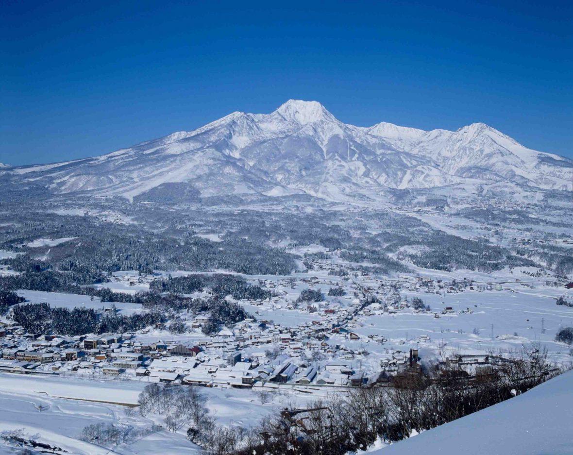 Myoko Kogen ski resort, Niigata Prefecture, Japan.