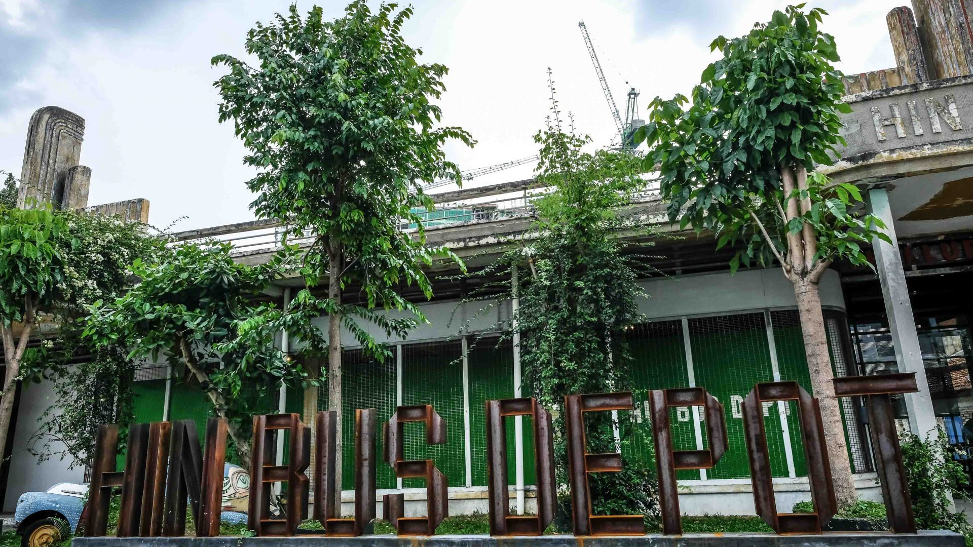 Once a dilapidated bus park, Hin Bus has become George Town's most popular retro-chic art space.