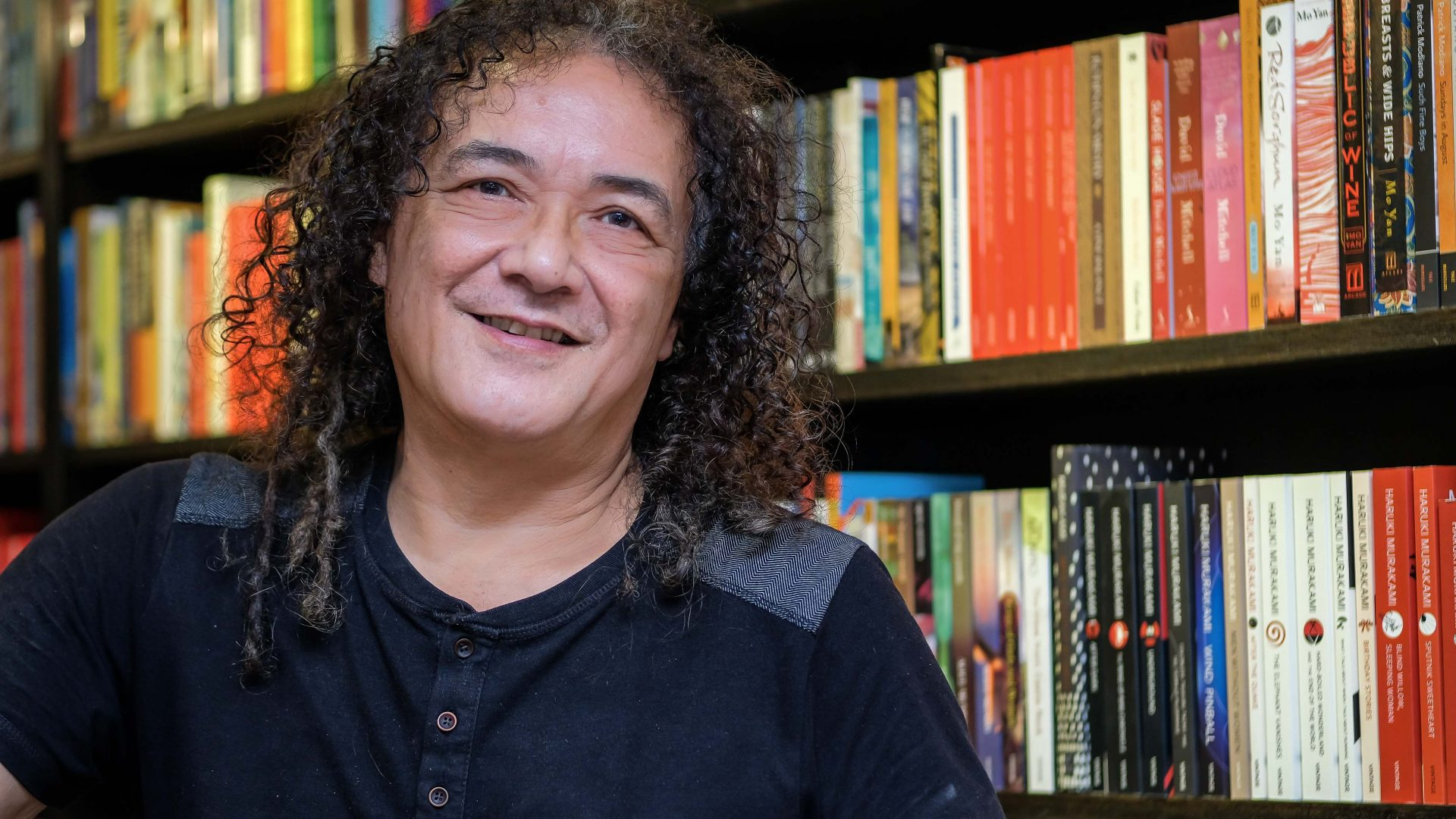Gareth Richards, owner of Gerakbudaya Bookshop, academic, writer, editor and co-curator of the George Town Literary Festival.
