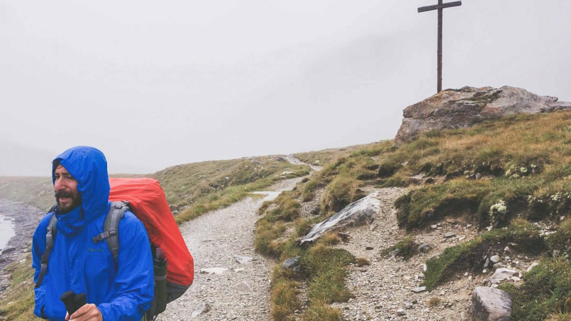 What can a really long walk in the Alps teach you about life, fear and laziness?