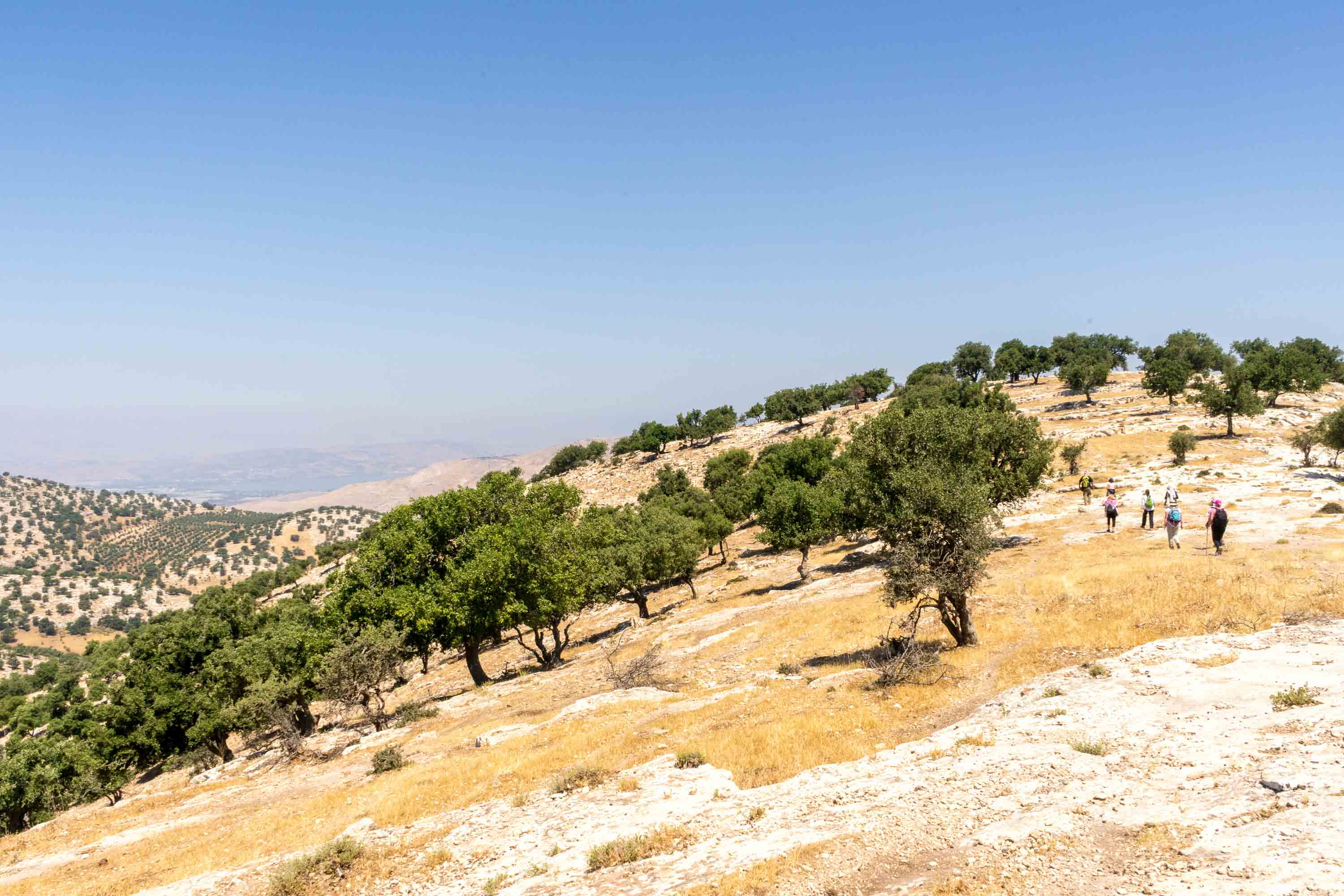 Hiking borderlands and finding community on the Jordan Trail