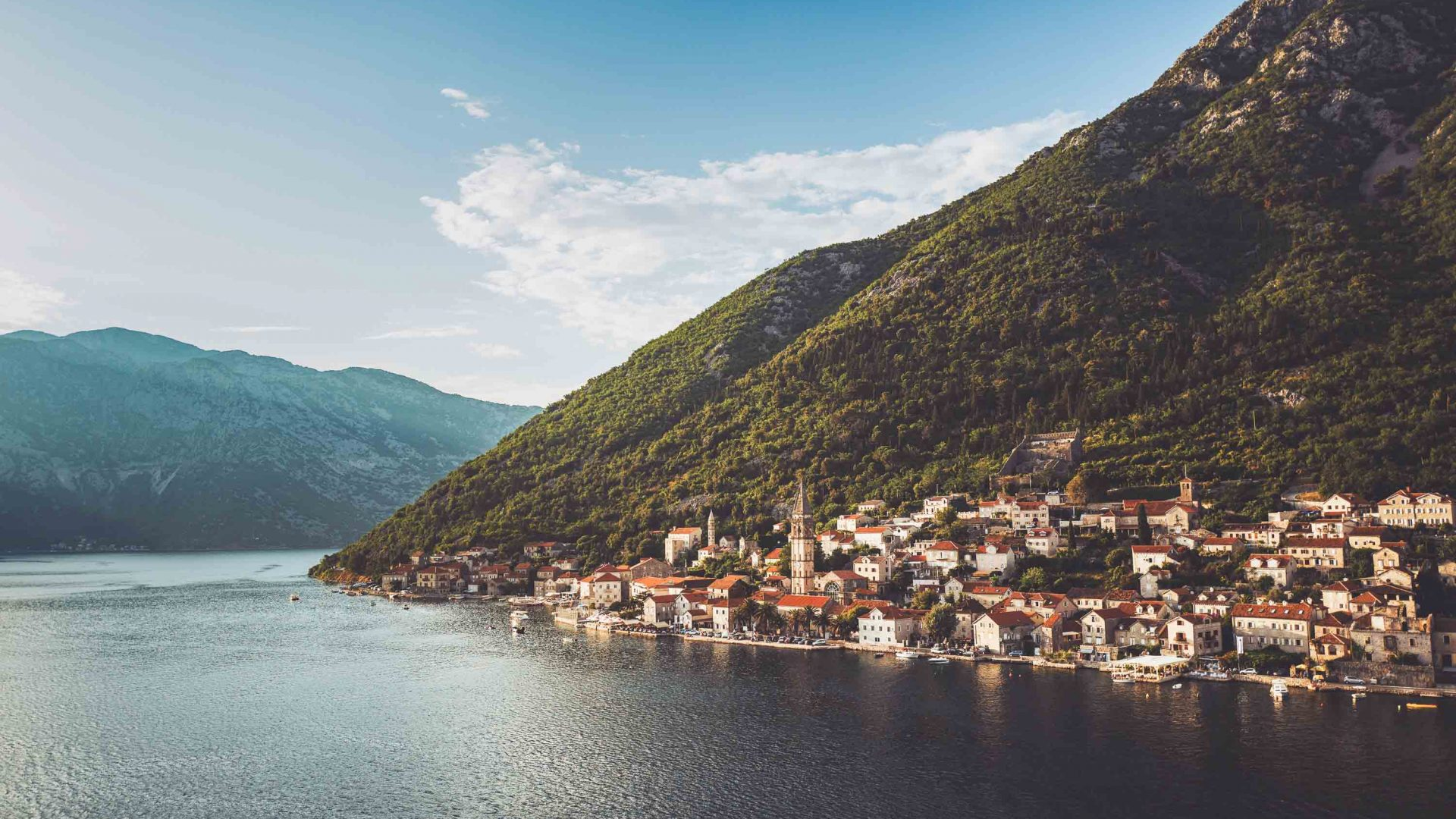 The town of Kotor, Montenegro.