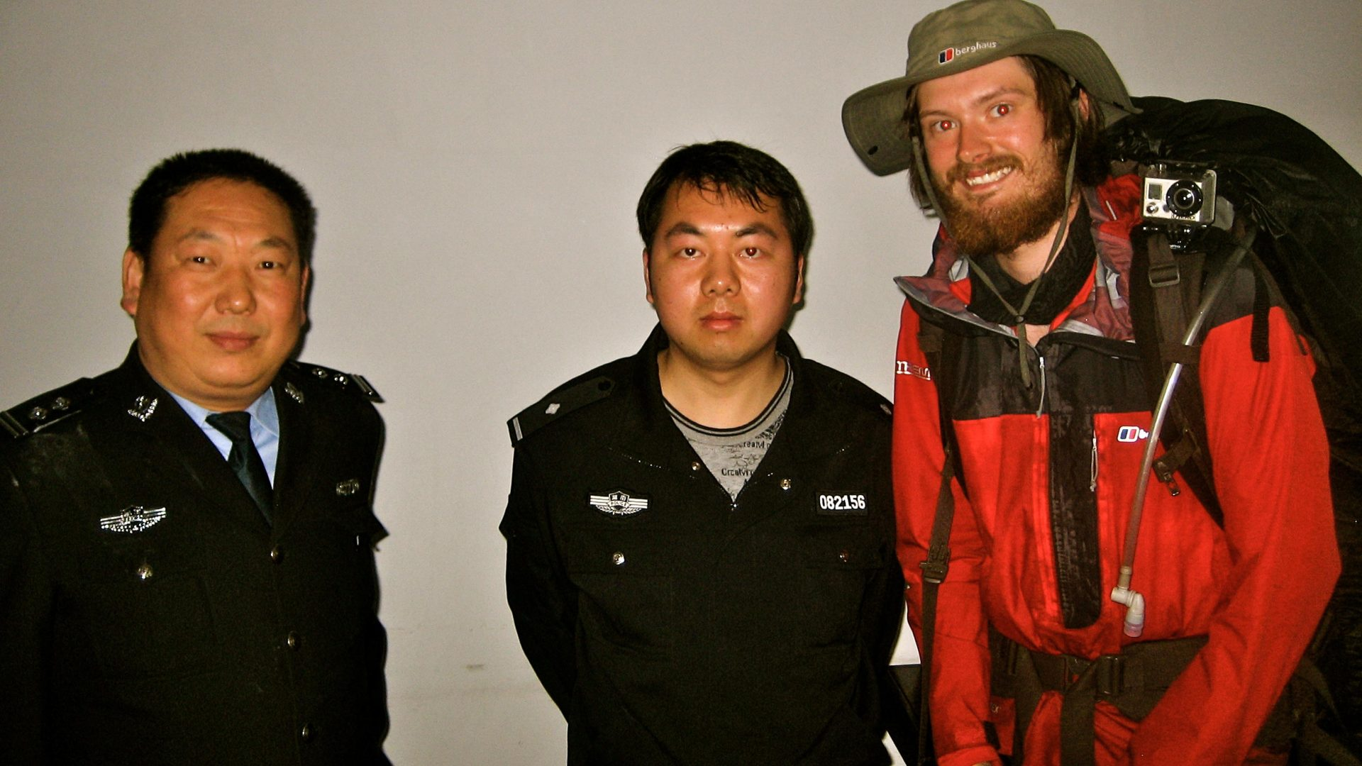 An unplanned meeting with the Chinese police.