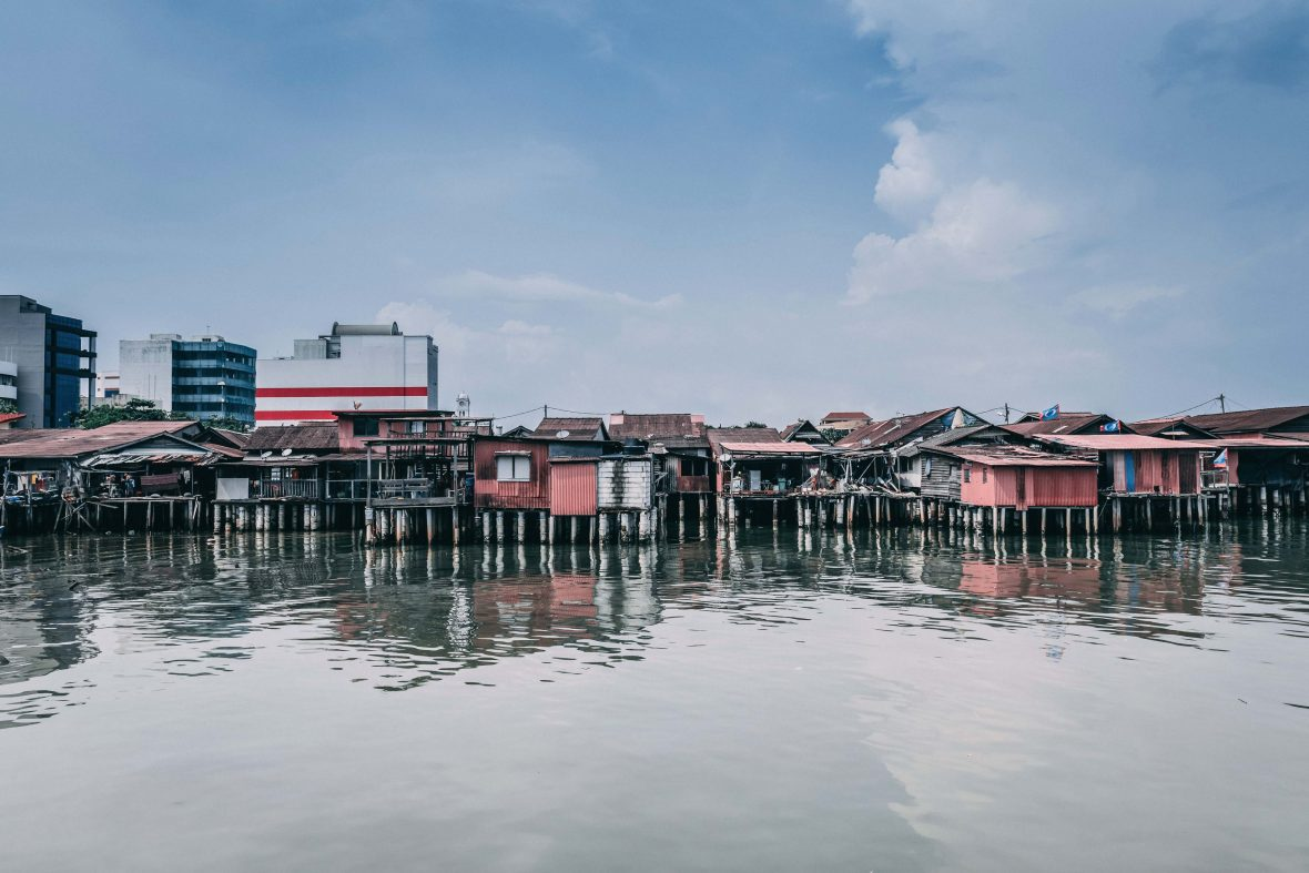 "George Town's Chew Jetty has been described by The Guardian as a severe case of ""UNESCO-cide""."