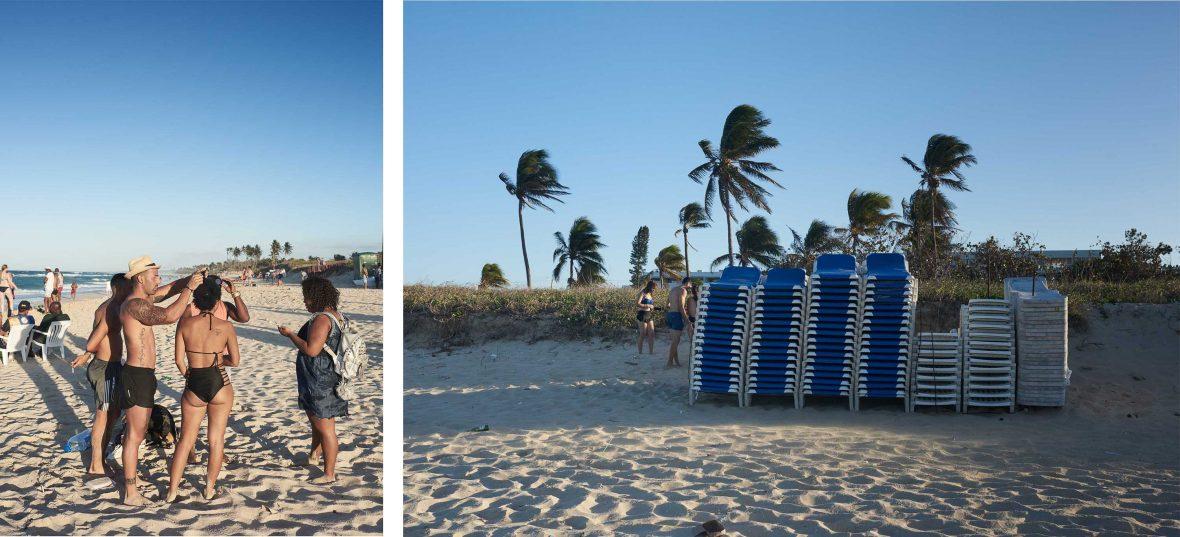 Las playas del Este, Habana, Cuba.
