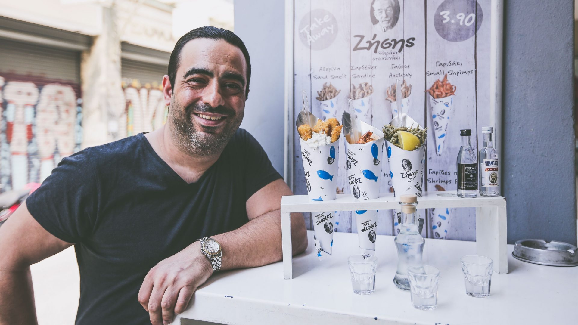 How Zisis' fish in a cone is taking Athens' food scene by storm