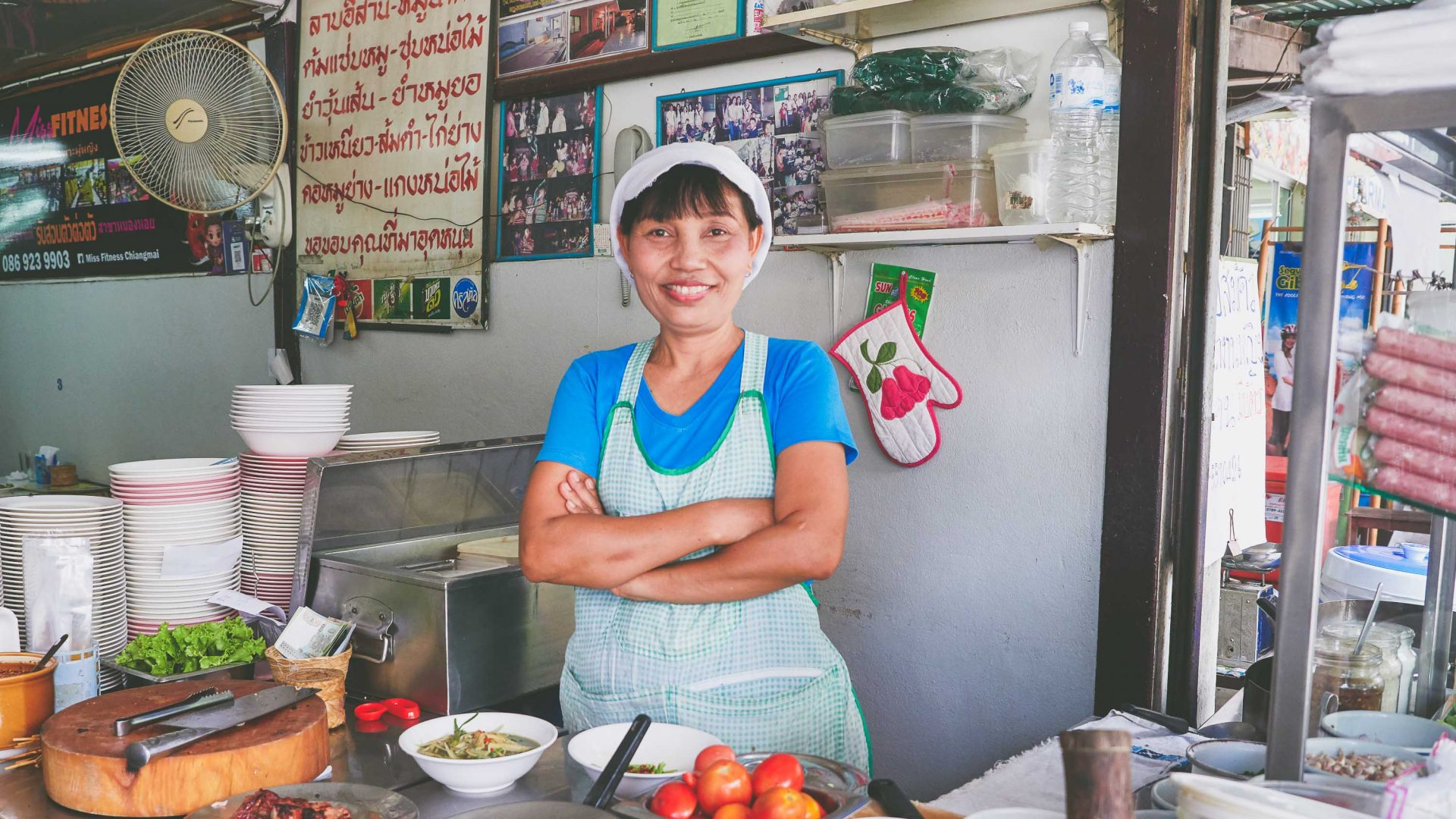 Meet the woman dishing up Chiang Mai's most delicious street food