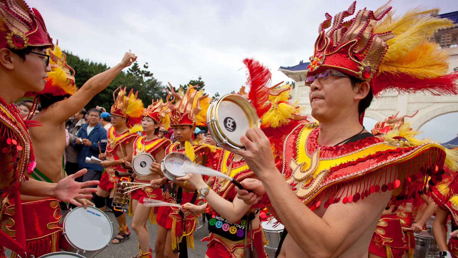 If you live in Taipei's Dream Community, this Indigenous festival is included in your rent