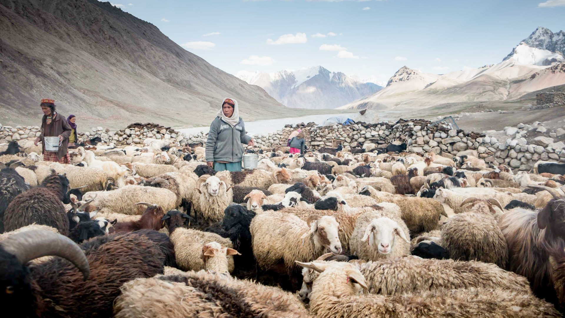 Walking with the last Wakhi shepherdesses of Pakistan