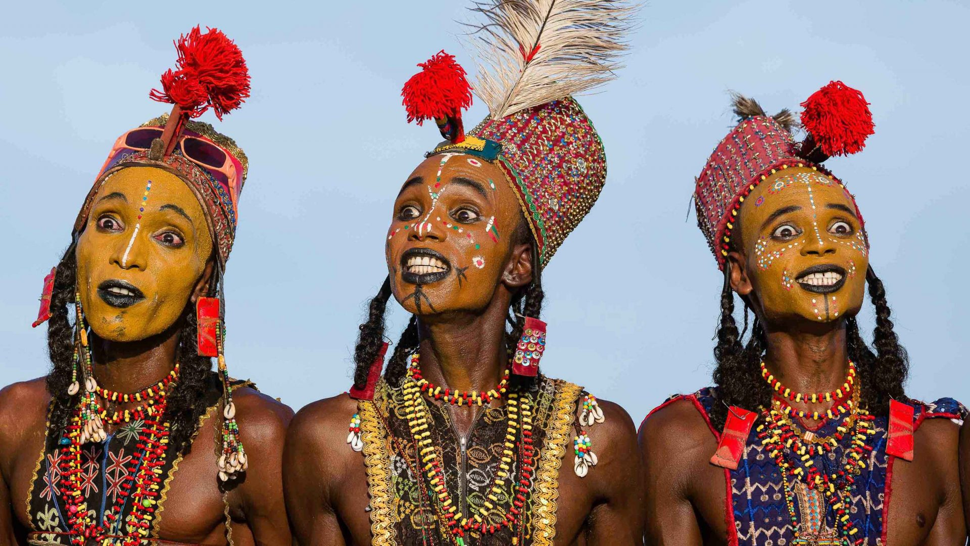 There's no Tinder in the desert: How Chad's Wodaabe nomads find love