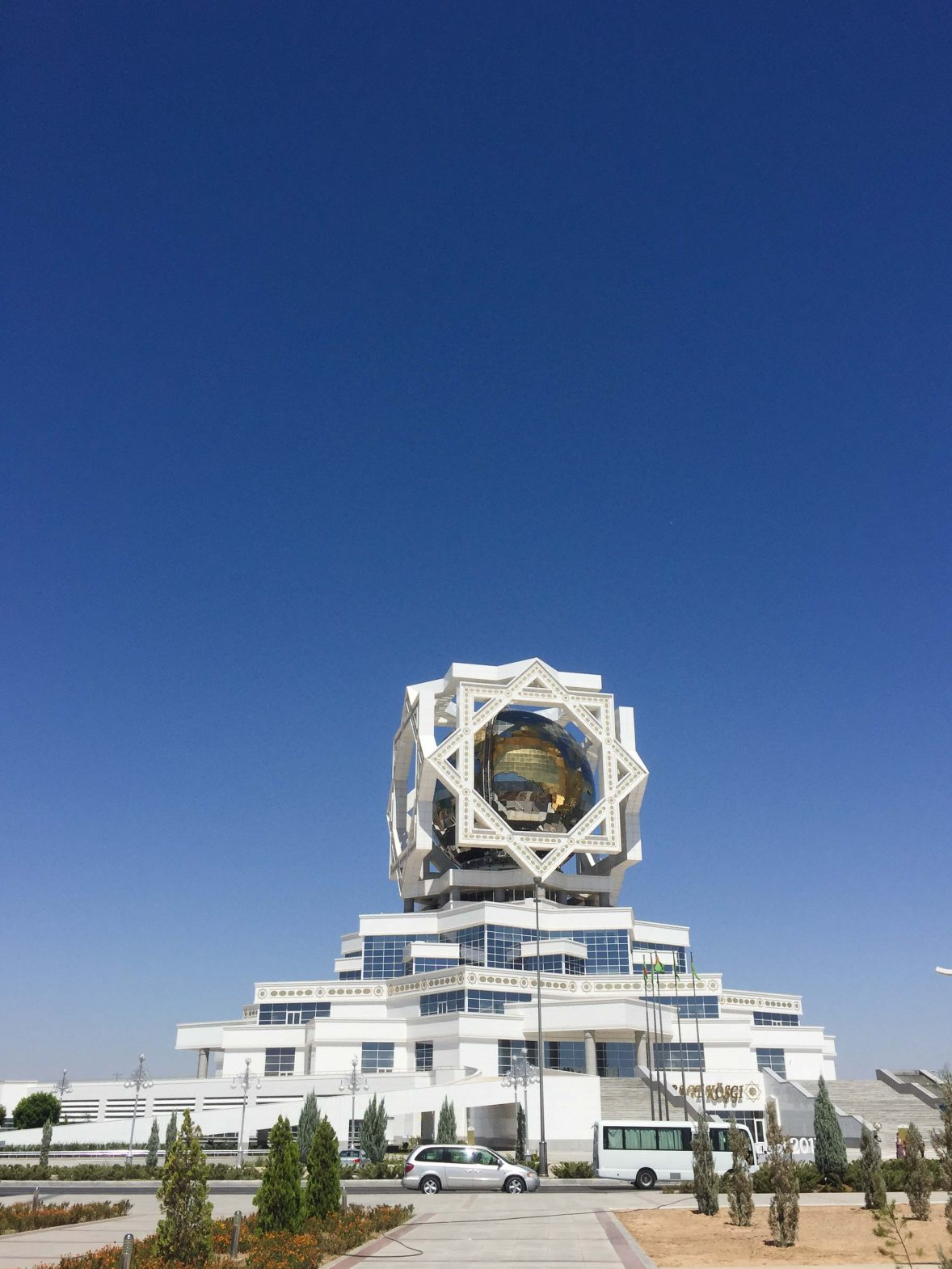Palace of Happiness, Ashgabat, Turkmenistan.