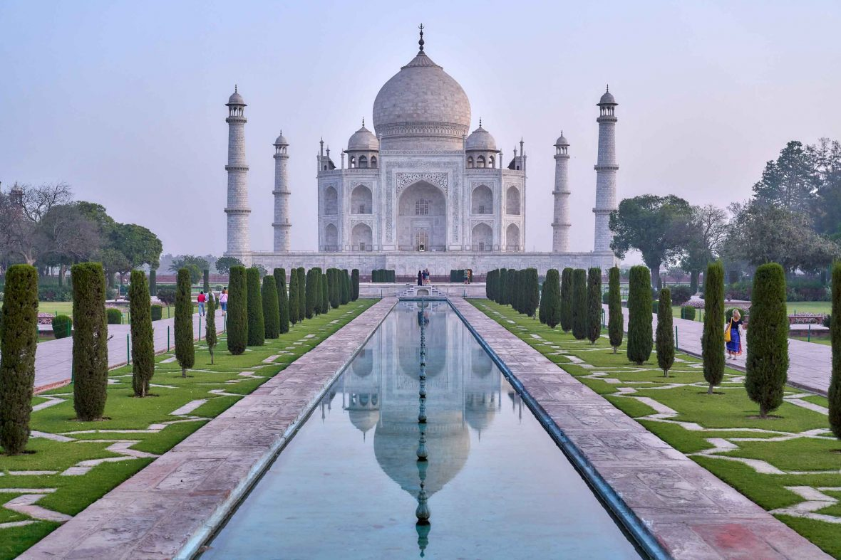 Tourism is vital to the continued restoration of the Taj Mahal, the main reason that visitors come to Agra where Sheroes is.