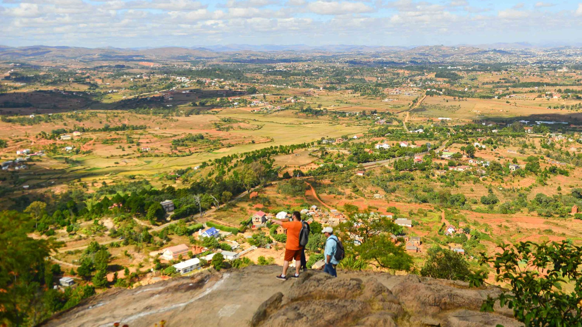 Hiking the Chemin des Escaliers, Madagascar.