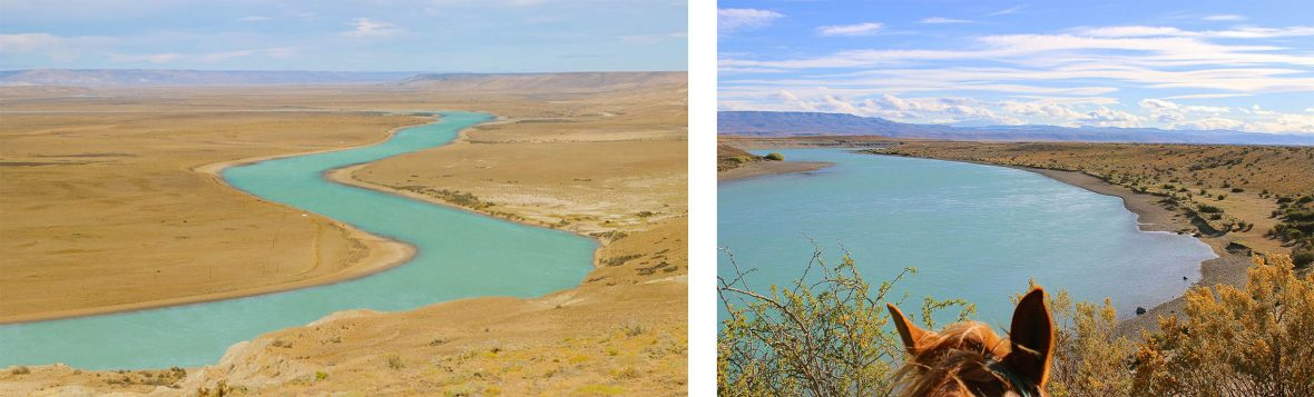 In the 19th century, Charles Darwin explored Argentina's Santa Cruz river valley.