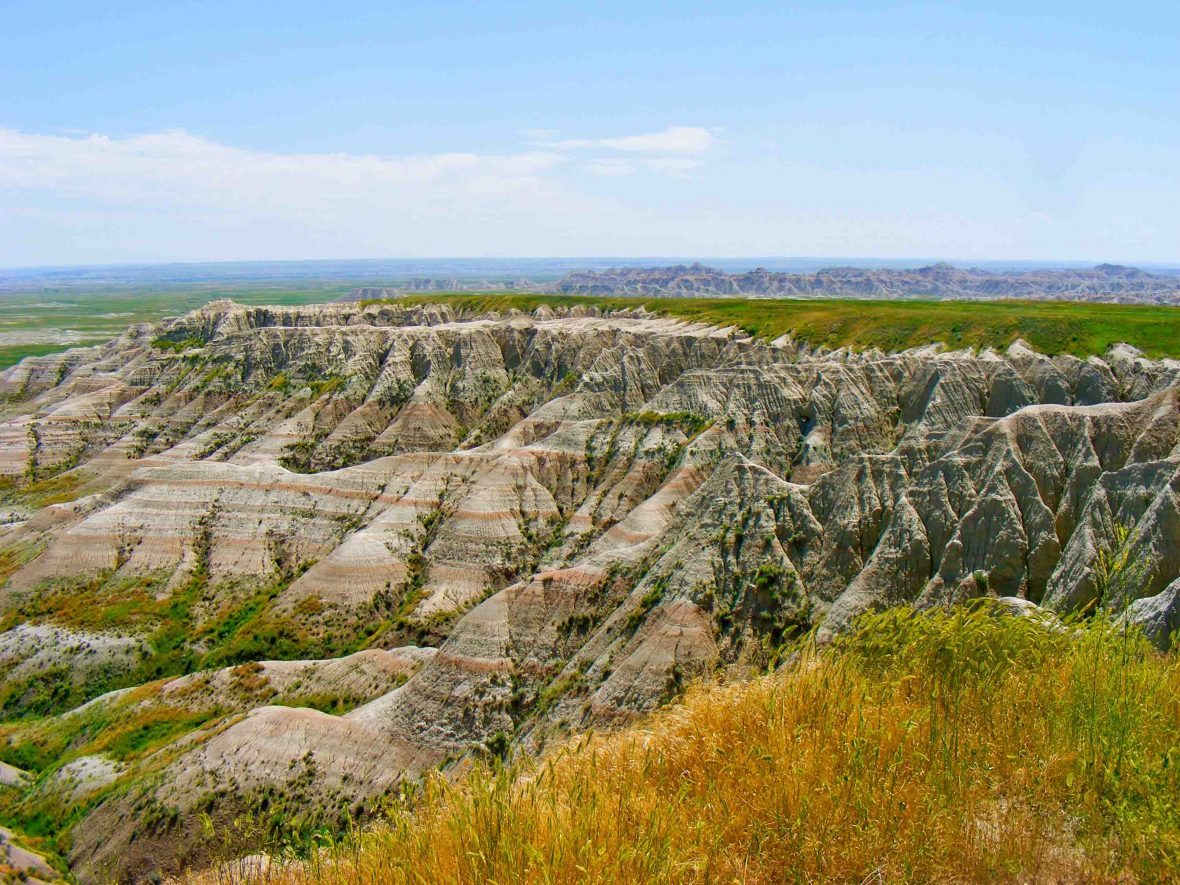 The Badlands in the US, a landscape that Lewis and Clark explored between 1804 and 1806, and a journey retraced by Leon McCarron.