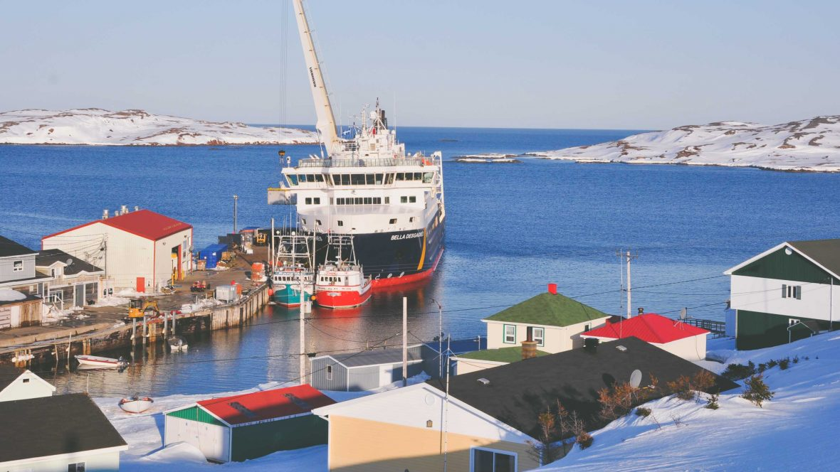 Cargo cruising deep into Canada's French First Nations territory