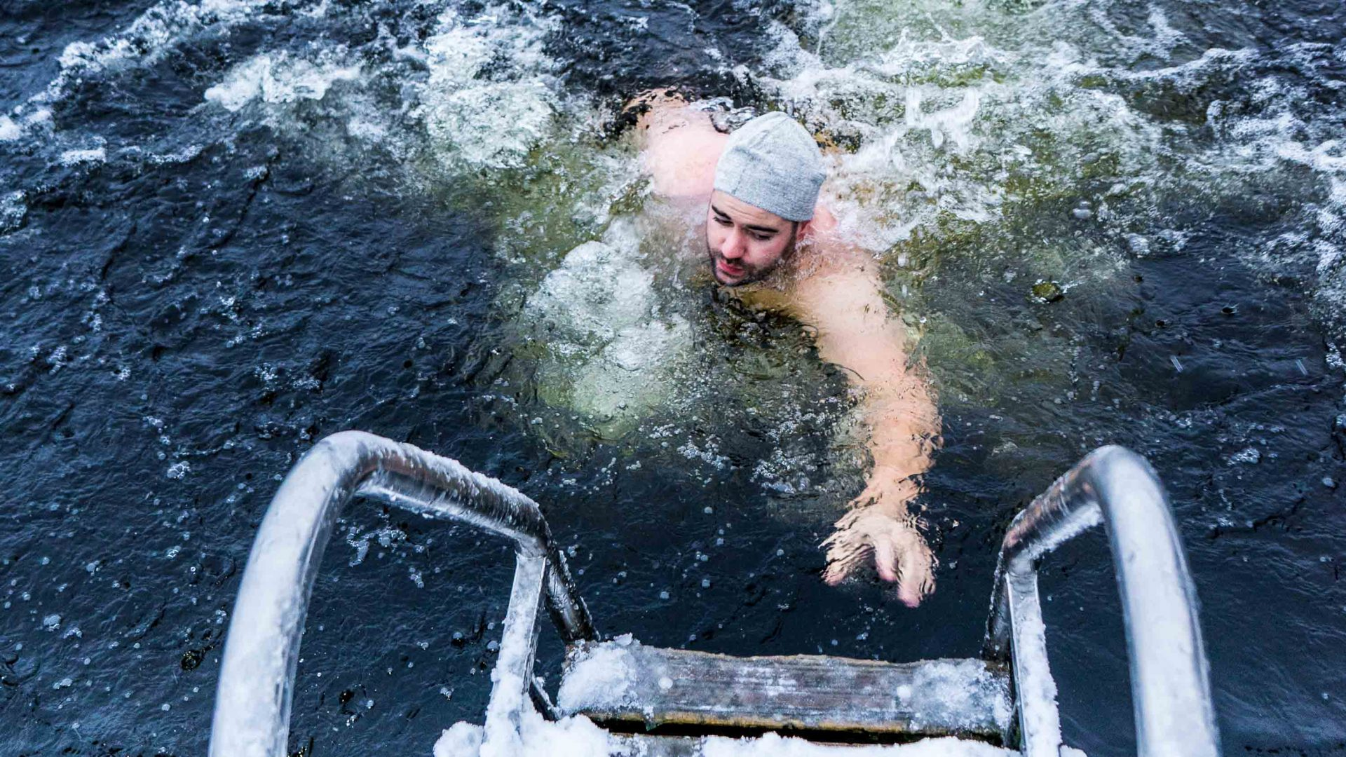 Is ice swimming the key to finding your inner 'sisu'?