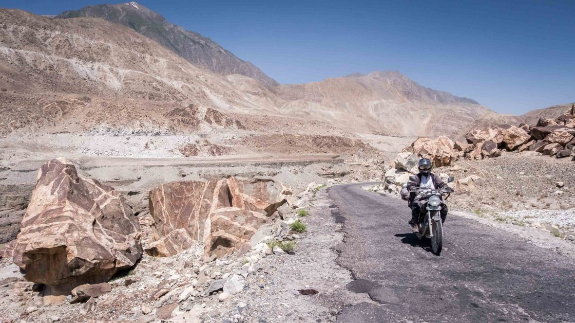 Hell's Angels? The motorcycle crew bringing tourism back to Pakistan