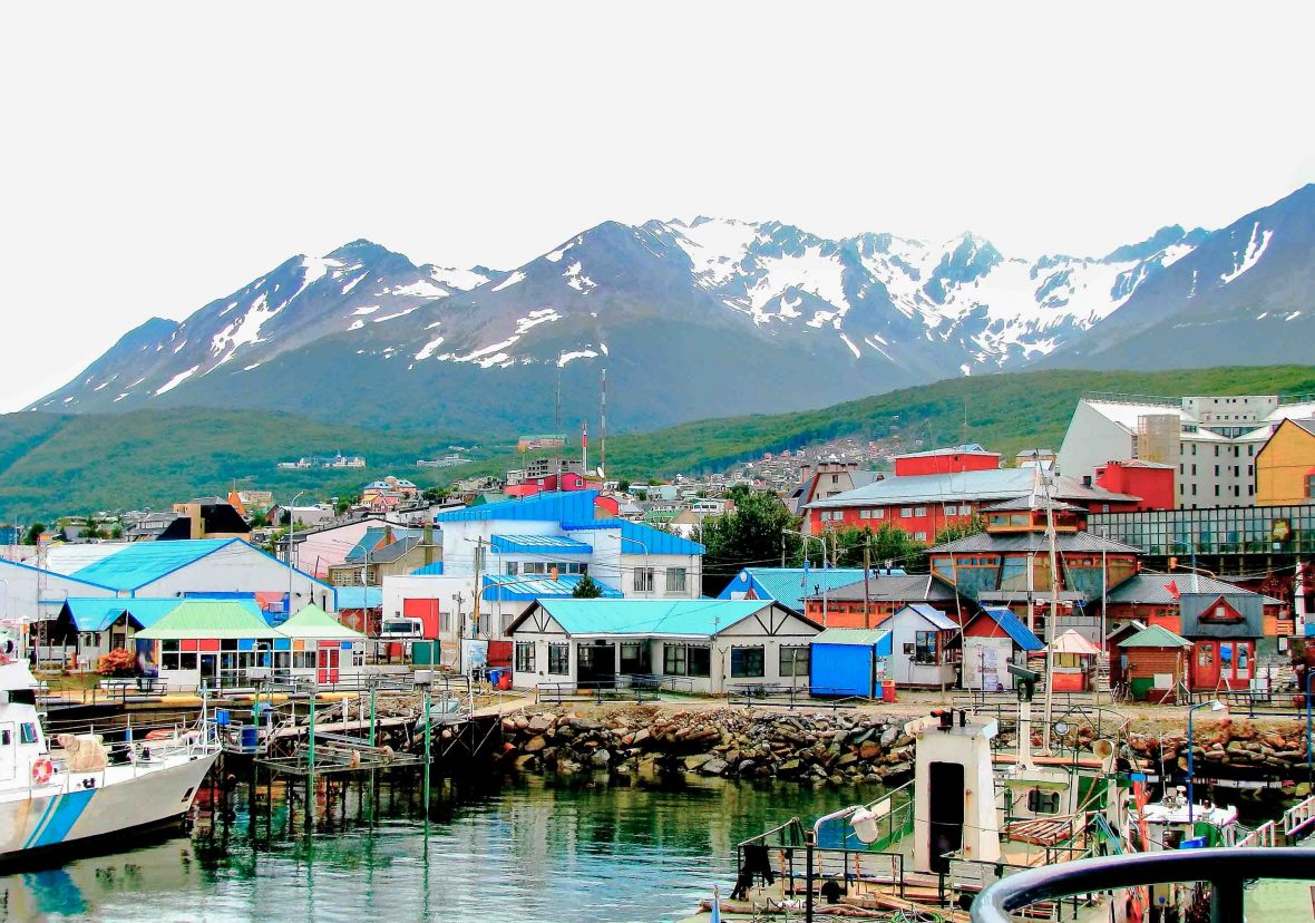 Nailed onto the southern wall of Tierra del Fuego island, Ushuaia is Argentina's—and, give or take, the world's—southernmost town.