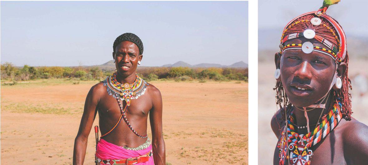 Samburu people of Kenya.