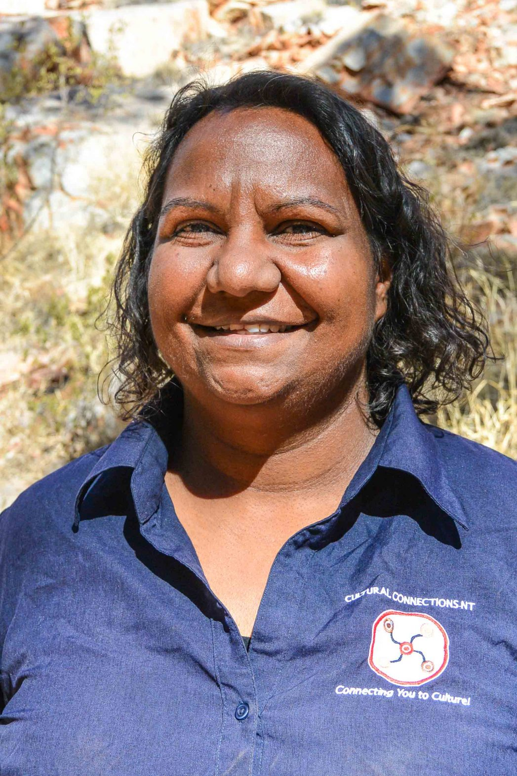 Dea Mack, a guide from Cultural Connections NT, Australia.