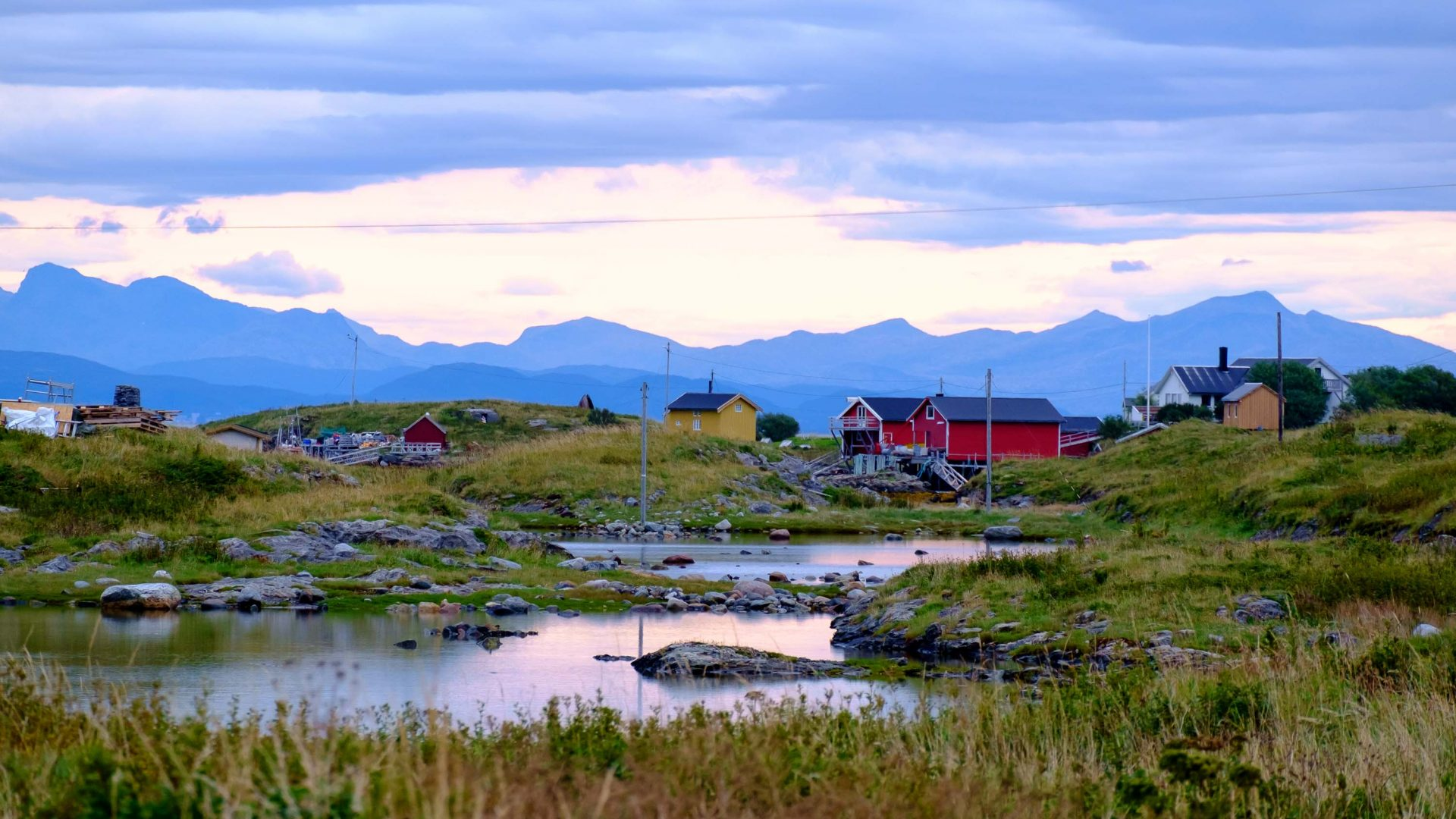 What's it like to live on tiny island in remote Arctic Norway?