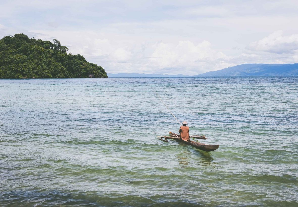 The tiny settlement of Bancea sits on the western side of Poso Lake in central Sulawesi, the third largest lake in Indonesia.