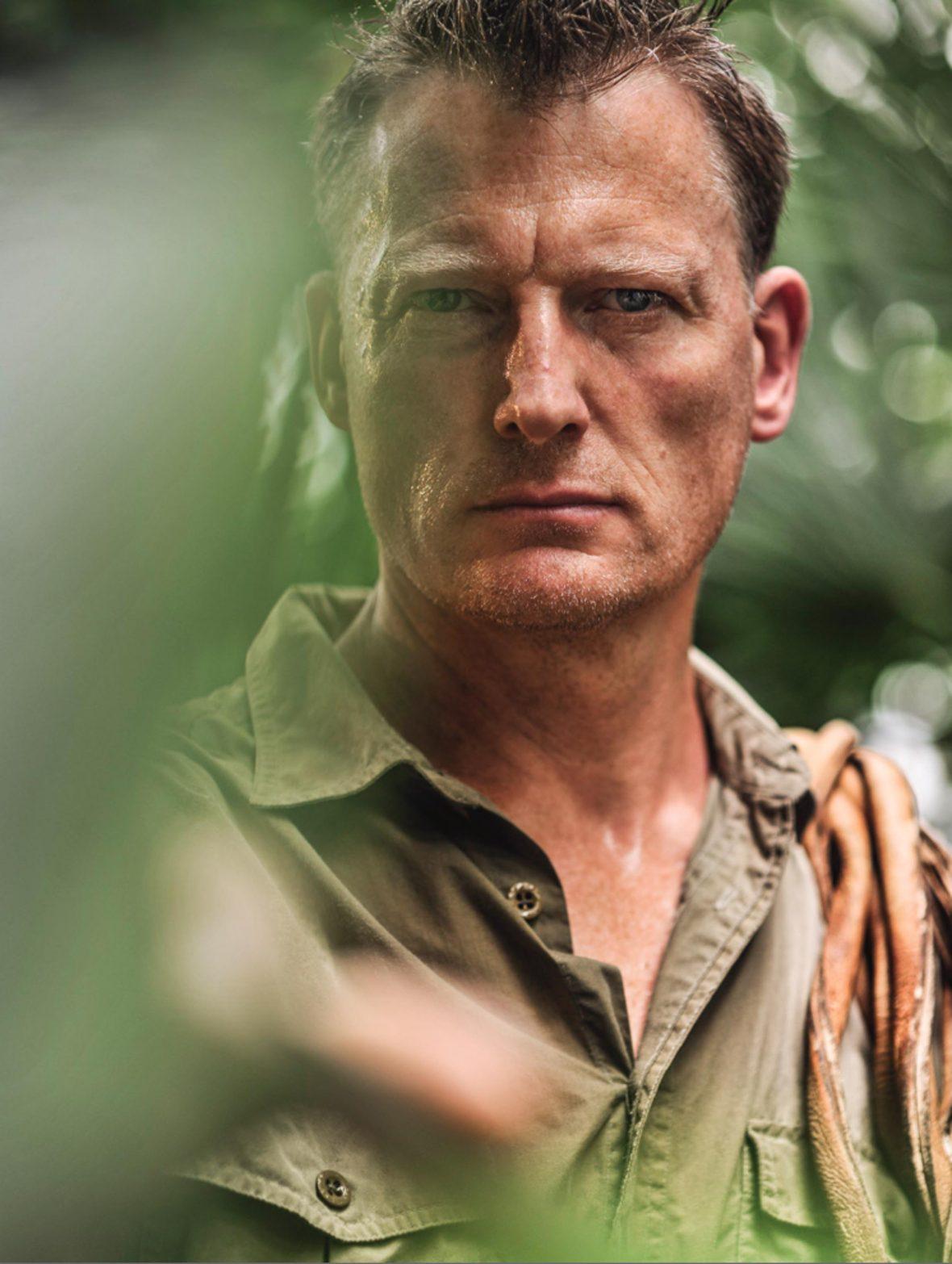 Explorer, writer, speaker and environmentalist Benedict Allen.