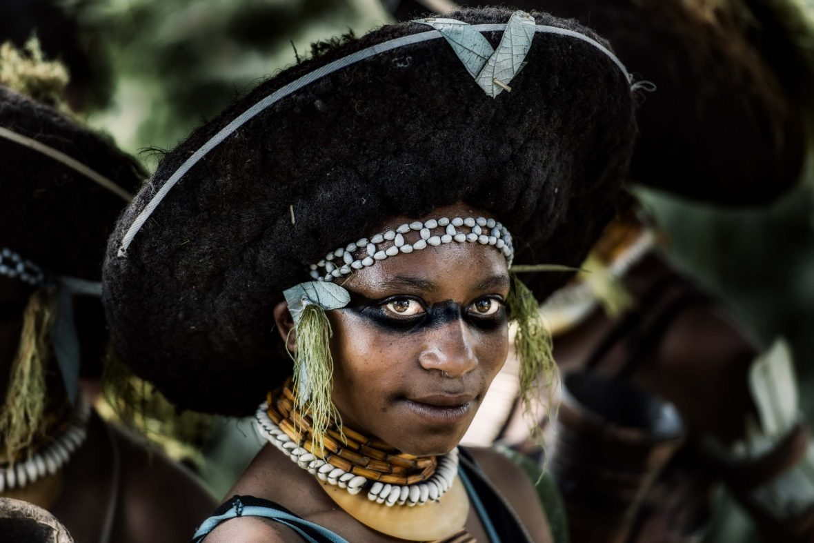 A woman from Mount Hagan in Papua New Guinea.