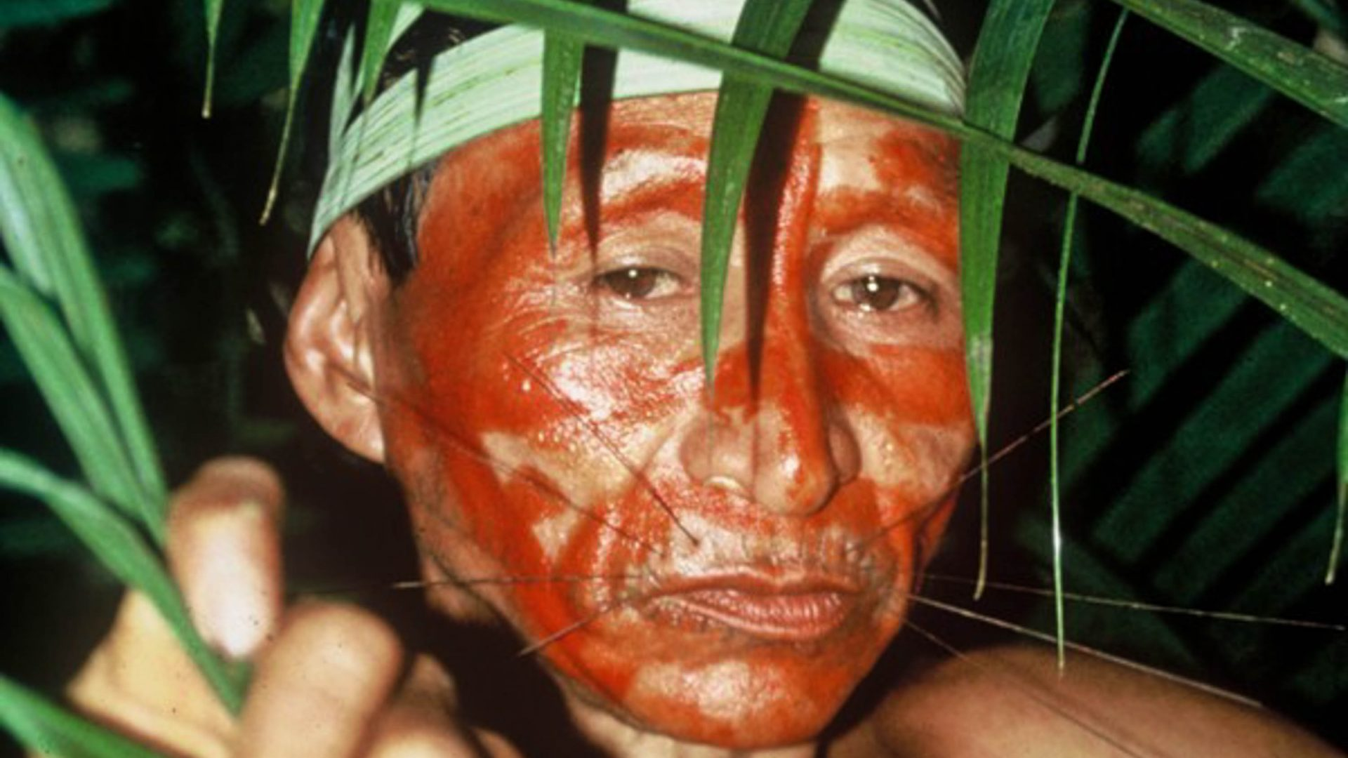 Pablito who Benedict stayed with in the Peruvian Amazon 25 years ago.