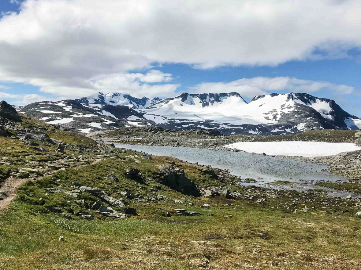 Jotunheimen National Park in Norway.