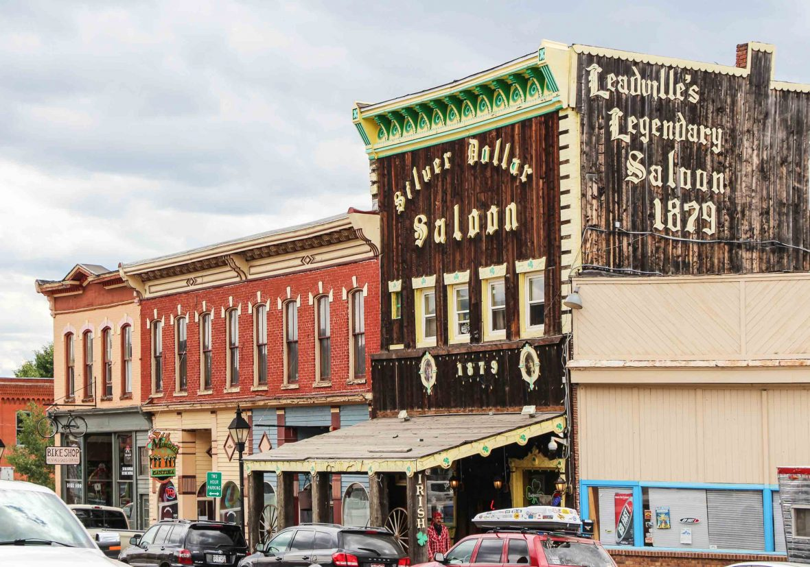 The Silver Dollar Saloon in Leadville, Colorado.