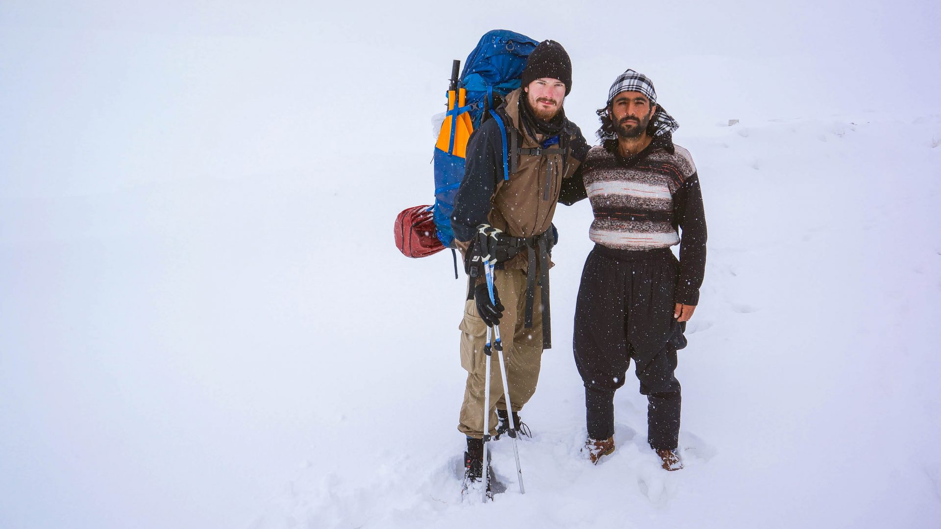 Leon and his Baktiari host (of the southwestern Iranian tribe) in the mountains.