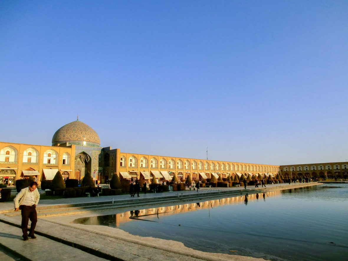 Meidan Emam or Iman Square in the center of Isfahan.