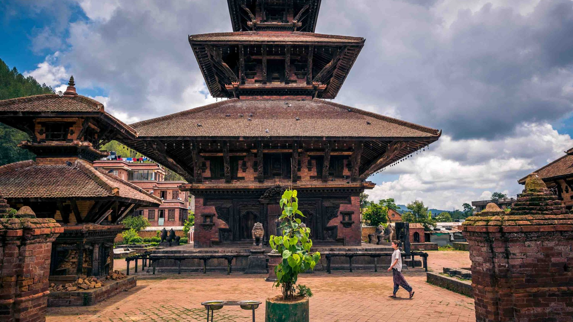 The stunning architecture of Panauti, Nepal.
