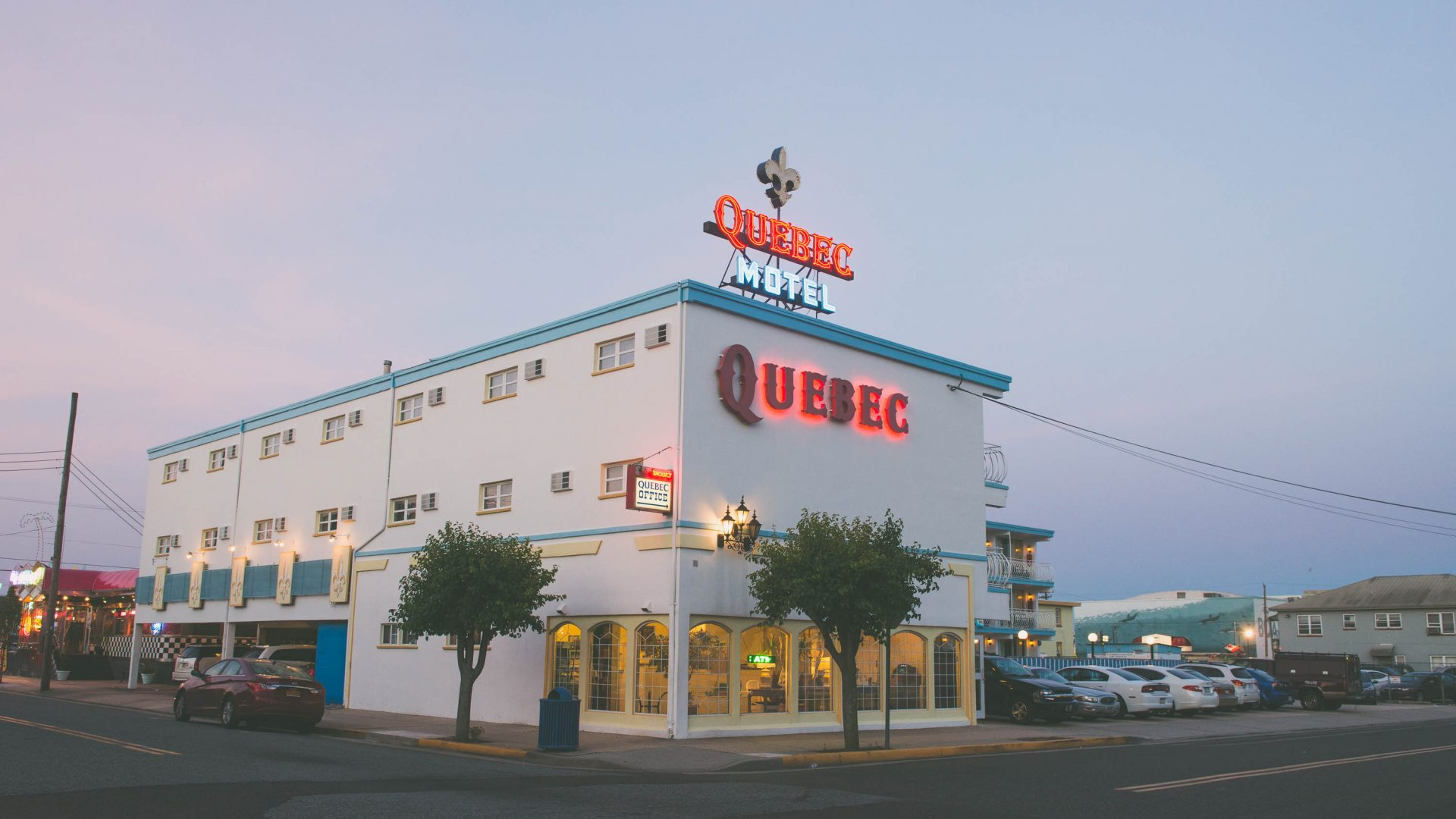 Motel Quebec catered to none other than the Quebecois who would come in large numbers to visit Wildwood in the summer months.