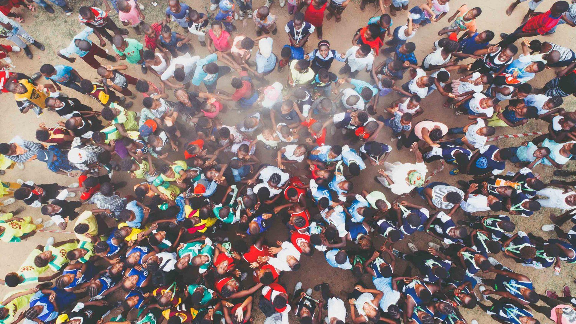 People at Acornhoek South Africa.