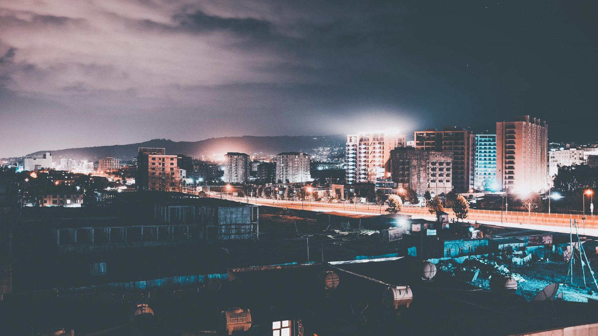 Addis Ababa, the capital of Ethiopia.
