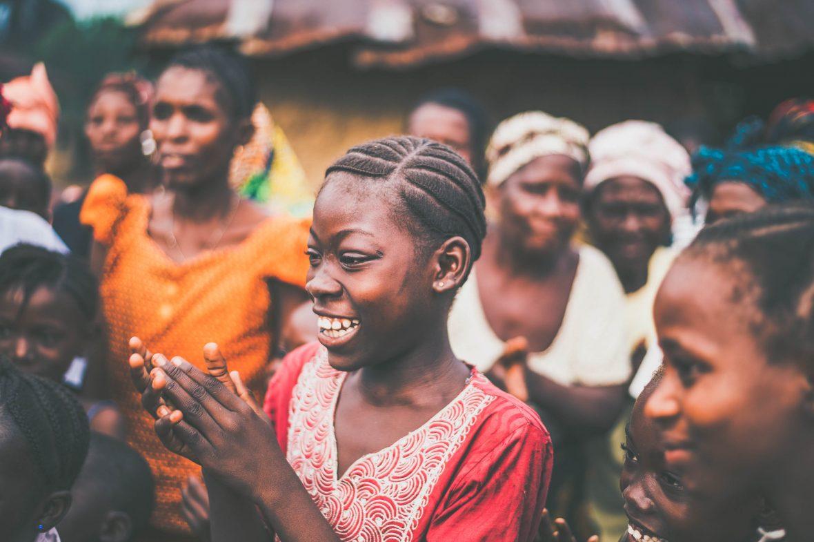 Women in Sierra Leone.